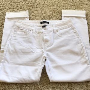 NWOT White Ankle Jeans
